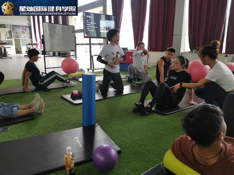 新乡健身教练培训内容有什么?