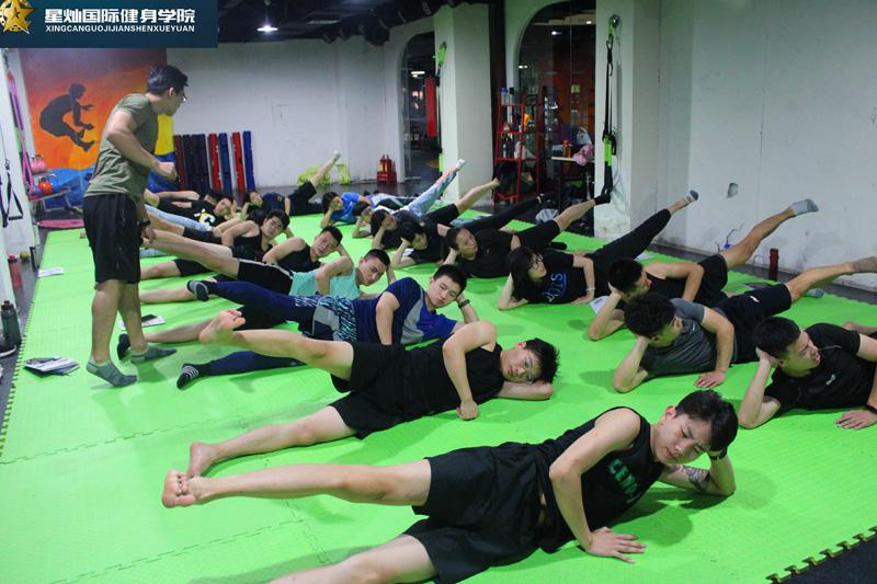 濮阳健身教练培训学什么?